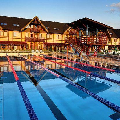 Akciový pobyt v Aquaparku Bešeňová