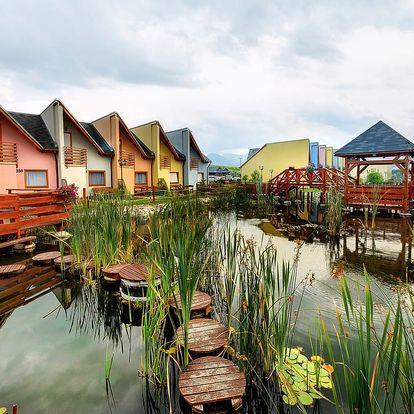 Pobyt v největším aquaparku na Slovensku Tatralandia