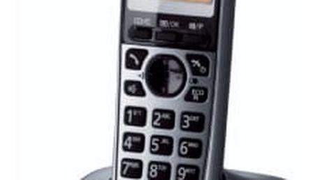 Domácí telefon Panasonic KX-TG2511FXM stříbrný (KX-TG2511FXM)