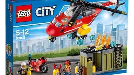 LEGO® CITY® 60108 Fire Hasičská zásahová jednotka