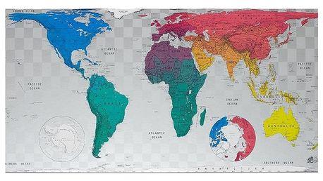 Mapa světa The Future Mapping Company Future World Map, 101x58cm