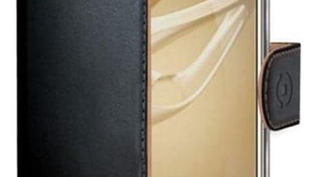 Pouzdro na mobil flipové Celly Wally pro Honor 8 černé (WALLY610)