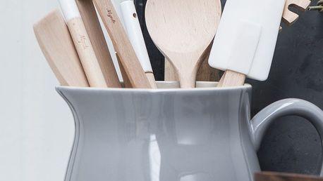 IB LAURSEN Džbán Mynte French grey 2,5 l, šedá barva, keramika