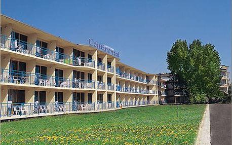 Bulharsko, Slunečné pobřeží - ParkHotelContinental*** se snídaní, 200m od pláže, letecky z Brna