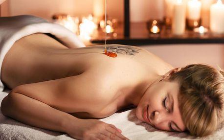 40minutová medová detoxikační masáž