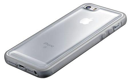 Kryt na mobil CellularLine ANTI-GRAVITY pro Apple iPhone 5/5s/SE průhledný (ANTIGRAVCIPH5T)