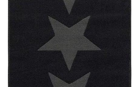 Šedý koberec Hanse Home Stars, 80x200cm