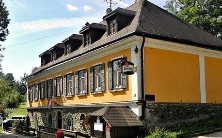 3–4denní pobyt pro 2 až 4 osoby se snídani a saunou v penzionu Stará Celnice v Krkonoších