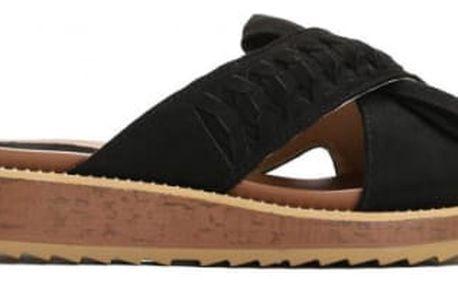 Dámské černé pantofle Piper 9153