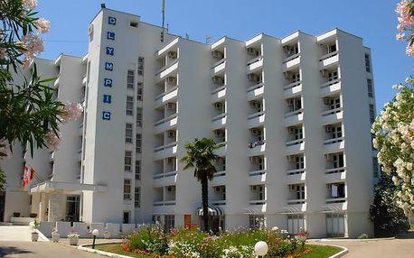Černá Hora - Ulcinj na 8 dní, light all inclusive s dopravou letecky z Prahy 40 m od pláže