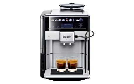 Espresso Siemens EQ.6 TE657313RW nerez + DOPRAVA ZDARMA