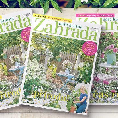 Roční předplatné časopisu Naše krásná zahrada