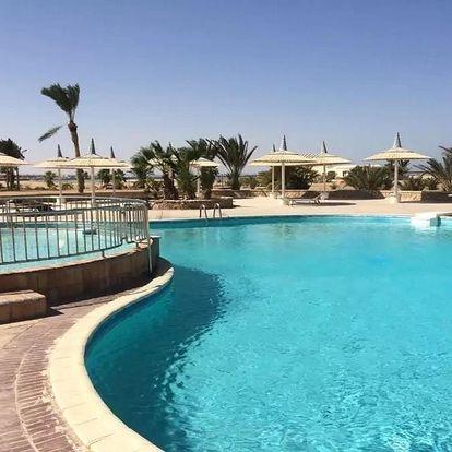Egypt - Hurghada na 9 až 22 dní, all inclusive s dopravou letecky z Brna nebo Prahy přímo na pláži