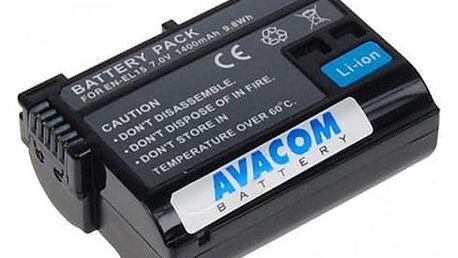 Akumulátor pro video/foto Avacom pro Nikon EN-EL15 Li-ion 7,2V 1400mAh (DINI-EL15-853)
