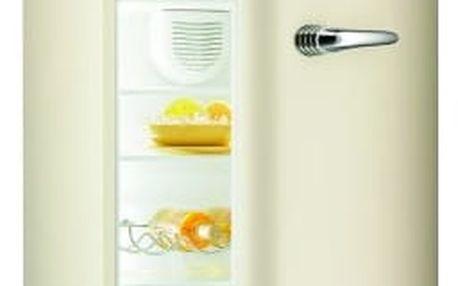Chladnička Gorenje Retro RF 60309 OC béžová