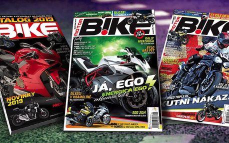 Roční předplatné časopisu Motorbike s katalogem