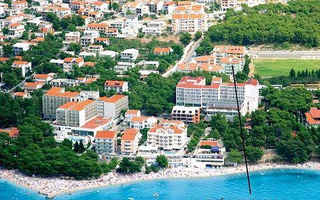 Chorvatsko - Baška Voda na 10 dní, bez stravy s dopravou autobusem 200 m od pláže