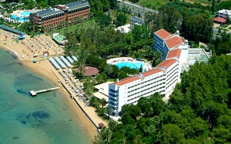 Turecko - Alanya na 4 až 8 dní, all inclusive s dopravou letecky z Prahy přímo na pláži
