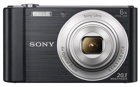 Digitální fotoaparát Sony Cyber-shot DSC-W810B černý