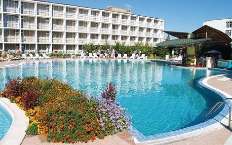 Bulharsko - Slunečné Pobřeží na 8 dní, all inclusive, polopenze nebo snídaně s dopravou letecky z Košic nebo Bratislavy 200 m od pláže