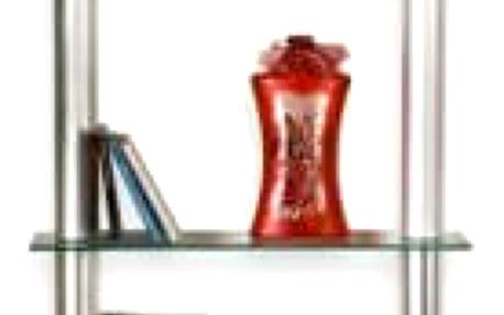 STILISTA SLIM 1322 Nástěnný skleněný regál čirý