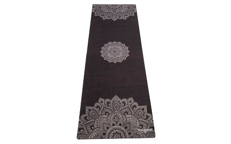 Černá podložka na jógu Yoga Design Lab Commuter Mandala, 1,3kg