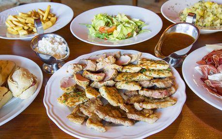 Raut až pro 6 osob: šunka, steaky i panenka
