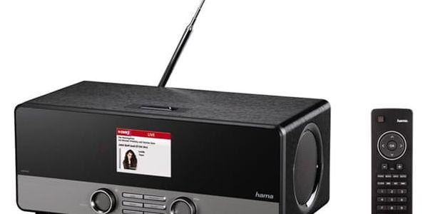 Internetový radiopřijímač Hama DIR3100 DAB+ černý (54819)