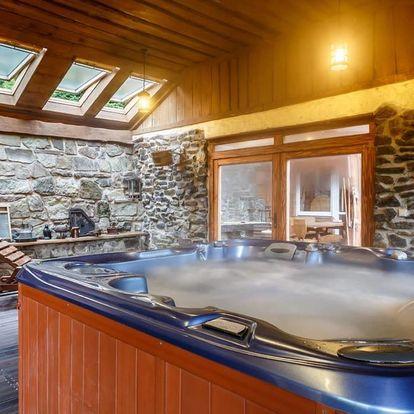 Pronájem luxusní wellness chaty v Beskydech až pro 10 osob