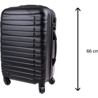 Kufr střední černý