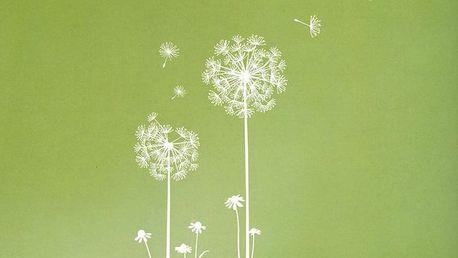 Sada samolepek Ambiance Dandelion Flowers Stickers
