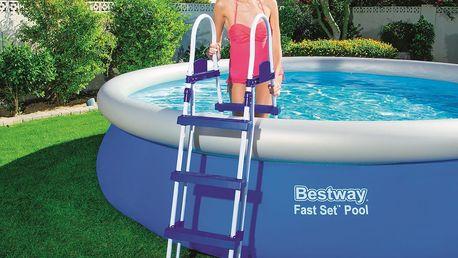 BESTWAY Bezpečnostní schůdky k bazénu 0,91 - 1,07 m