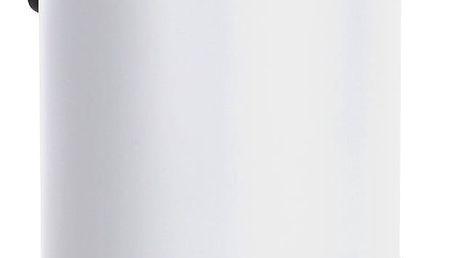 Bílý odpadkový koš Wenko Leman, 3 l