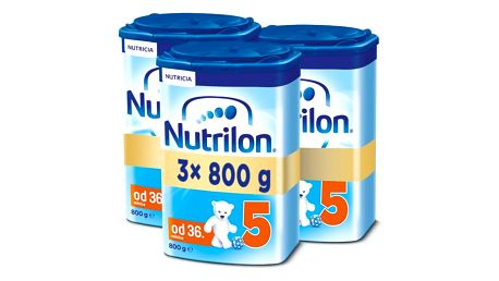 3x NUTRILON 5 (800g) - kojenecké mléko