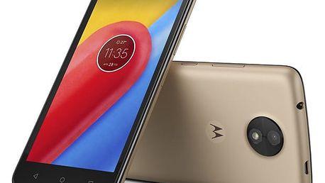 Mobilní telefon Motorola Moto C Dual SIM (PA6L0092CZ) zlatý Software F-Secure SAFE, 3 zařízení / 6 měsíců v hodnotě 979 Kč