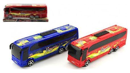 Plastový autobus pro kluky i holky