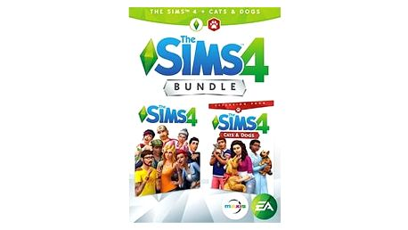 Hra EA PC THE SIMS 4 + CATS & DOGS CZ/SK Bundle (5030944122747)