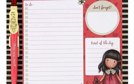 Magnetický organizér se zápisníky a perem Santoro London To-Do List, A5