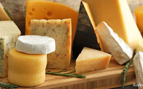 Holandsko na talíři: 200 g goudy či kozího sýru