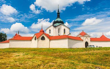 3denní pobyt u Žďárských vrchů pro 2 nebo rodinu