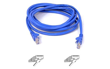 Kabel Belkin síťový (RJ45), 15m modrý (A3L791b15M-BLUS)