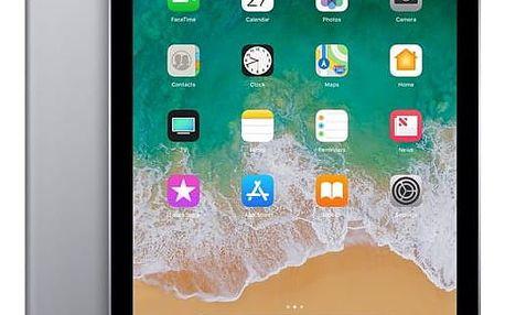 Dotykový tablet Apple (2018) Wi-Fi 128 GB - Space Gray (MR7J2FD/A) Software F-Secure SAFE, 3 zařízení / 6 měsíců v hodnotě 979 Kč + DOPRAVA ZDARMA