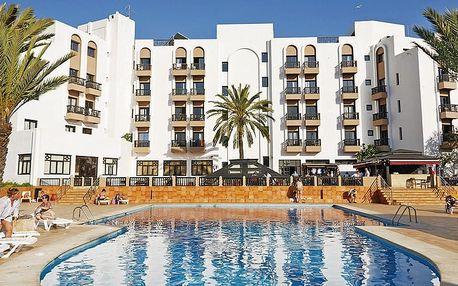 Maroko - Agadir na 8 až 15 dní, polopenze s dopravou letecky z Prahy 300 m od pláže