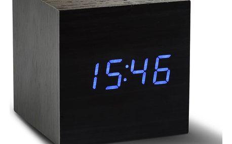 LED budík Click Clock Maxi Black
