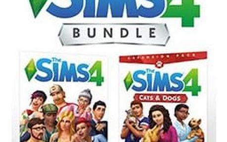 Hra EA PC THE SIMS 4 + CATS & DOGS CZ/SK Bundle (5030944122747)