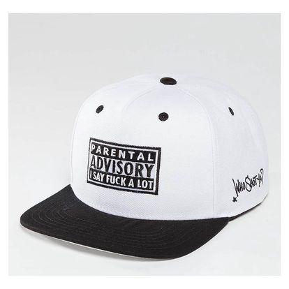 Who Shot Ya? / Snapback Cap Fkup in white Adjustable