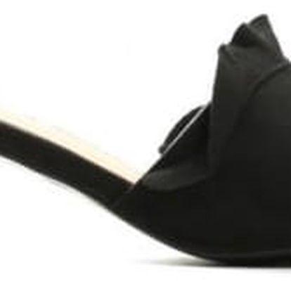 Dámské černé pantofle Maria 1485