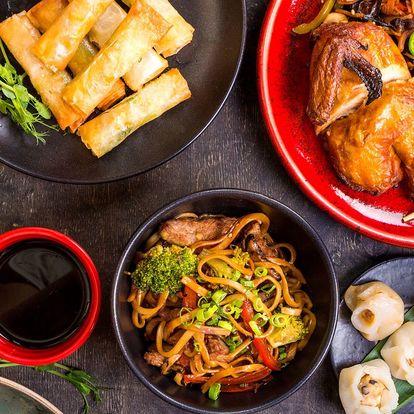 Dárkový voucher do čínské restaurace v Chrudimi