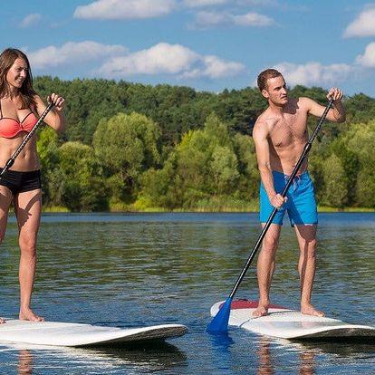 Vyzkoušejte si paddleboarding na hodinu i den