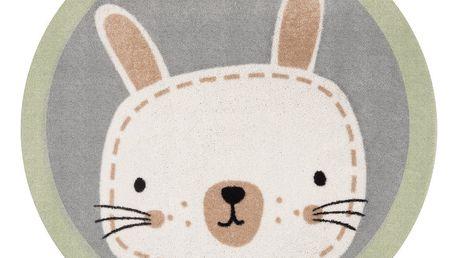 Dětský koberec Zala Living Rabbit, ⌀100cm